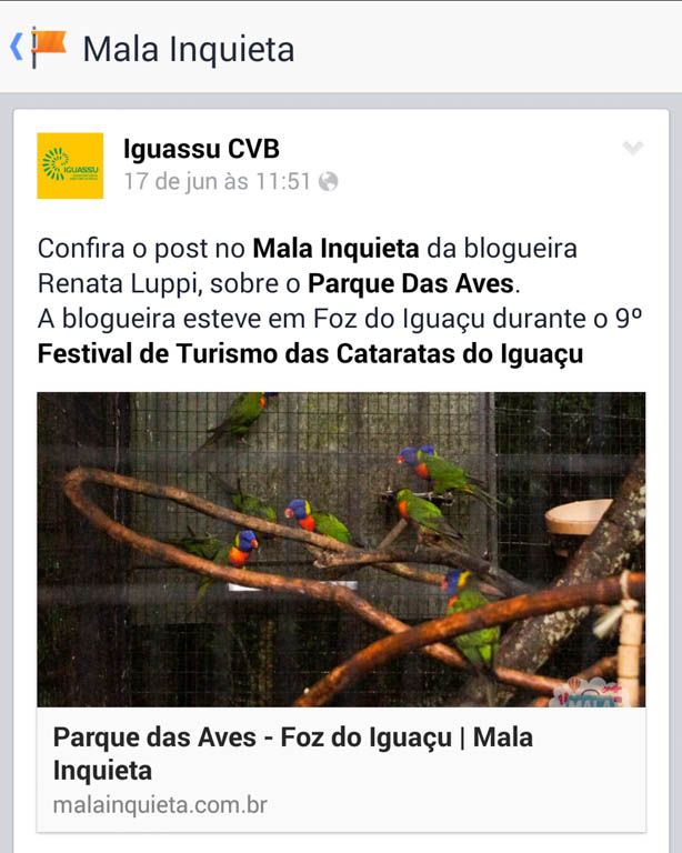 Destaque no Iguassu CVB