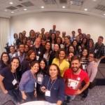 Blogueiros da @abbv_brasil no encerramento do encontro anual, no @bluetreehotels…