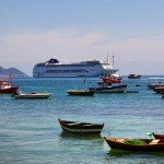 Búzios tem espaço para todos, barquinhos e barcões... #malainquieta #buziando…