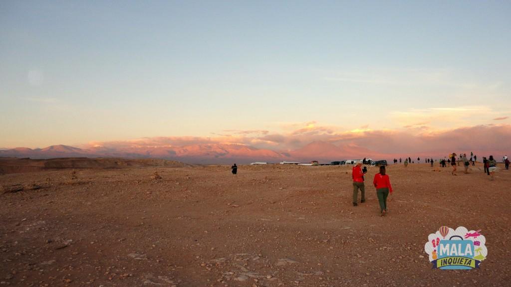 Pôr do Sol no Vale de La Luna por Lisane Monteiro