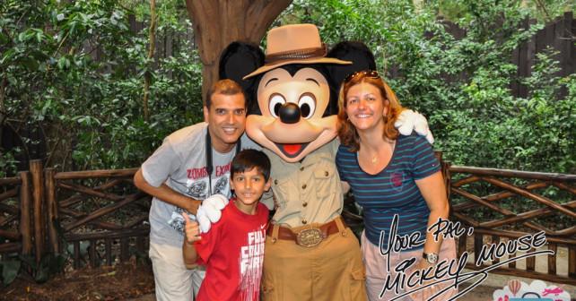Familia Viajar Hei na Disney - Foto: Patricia Tayão