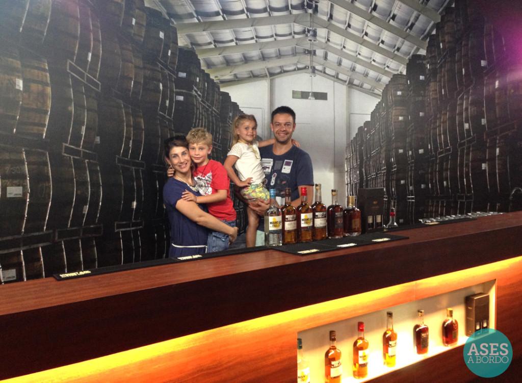 Mount Gay destilaria de rum - Foto: Ases a Bordo