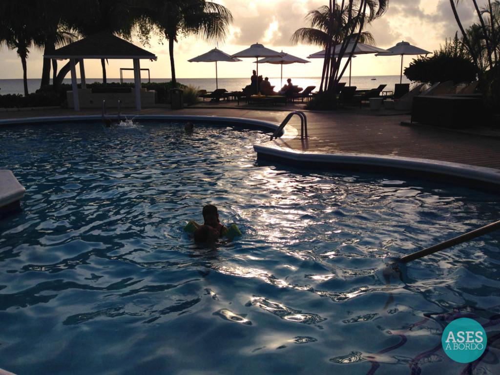 Piscina do Hotel Tamarind - Foto: Ases a Bordo