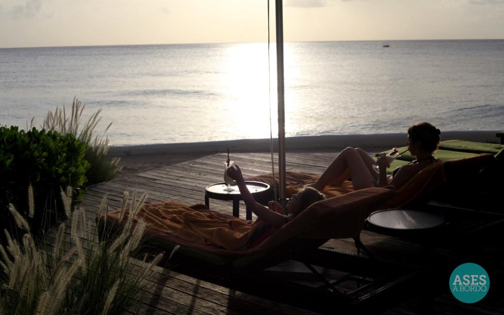 Pôr do Sol no Hotel Tamarind - Foto: Ases a Bordo