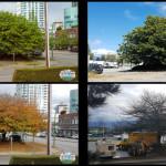 As 4 estações em Vancouver