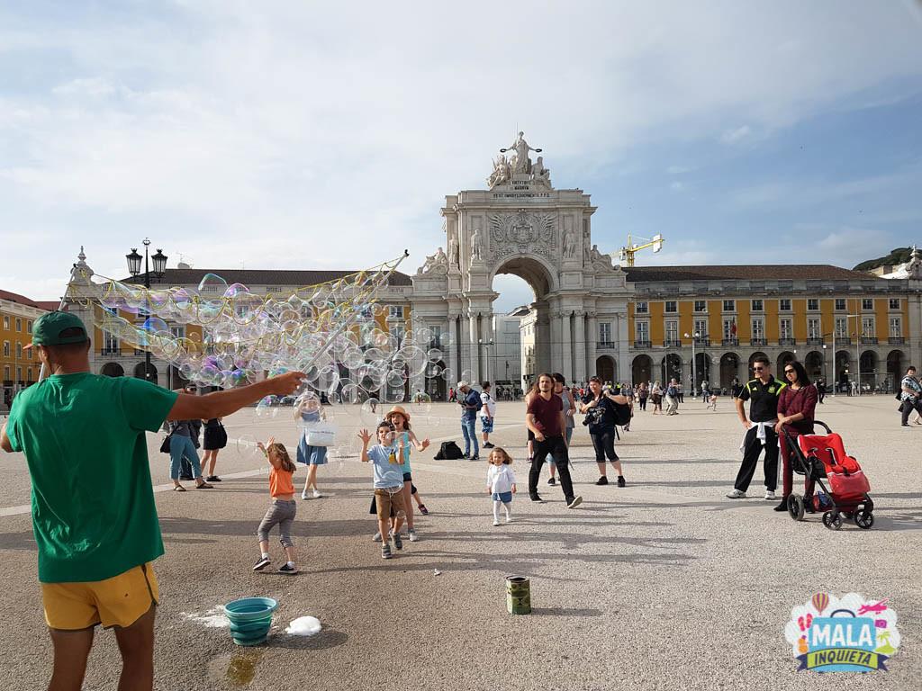 Praça do Comércio - Lisboa | Foto: Claudia Bins