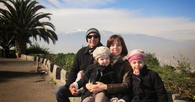 Claudia Bins e família em Portugal - Foto: Claudia Bins