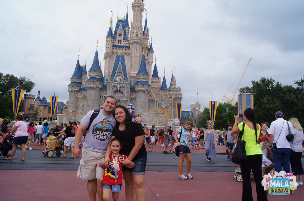 Primeira vez da Giovanna na Disney - 2012 | Foto: Mala Inquieta
