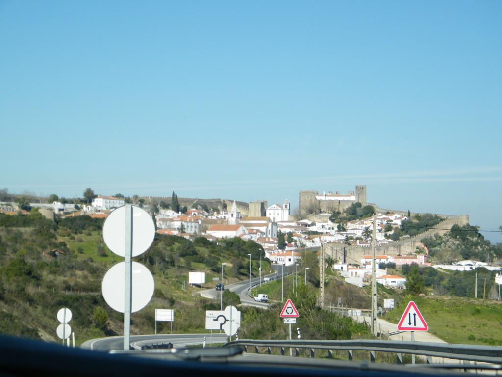Óbidos vista da estrada