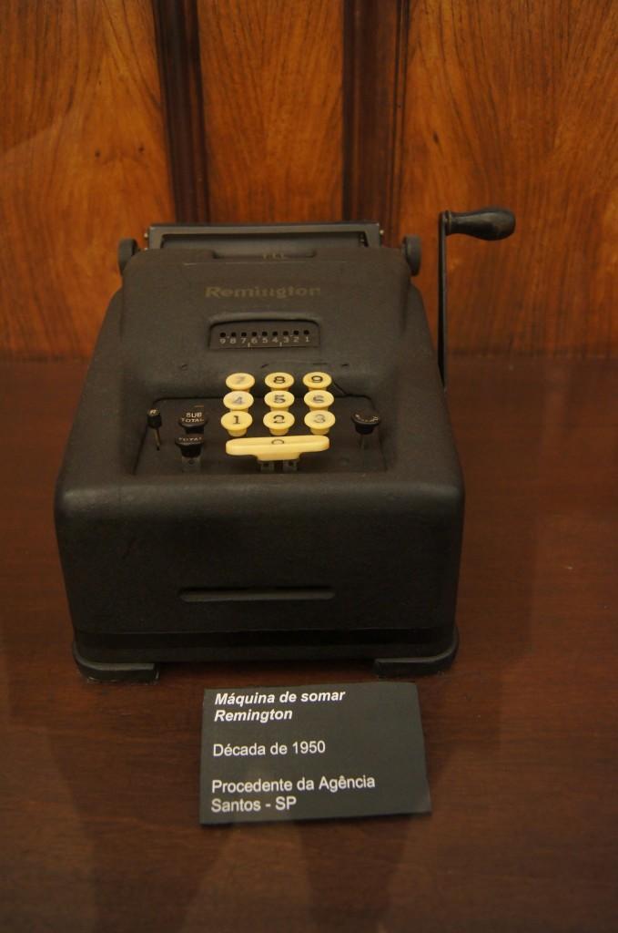 Máquina de somar Remington - Década de 50