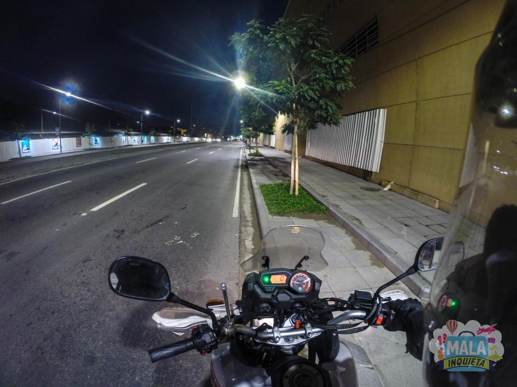 Via Binário do Porto, altura da Cidade do Samba - Centro