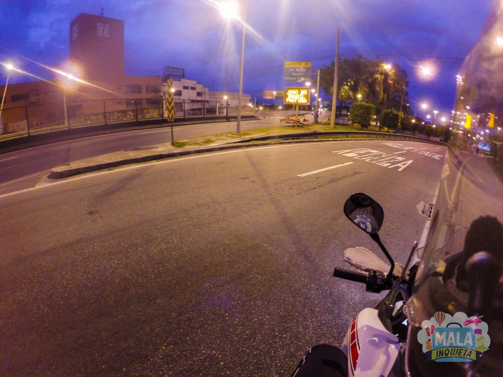Linha Amarela, saída para a Avenida Brasil - Zona Norte