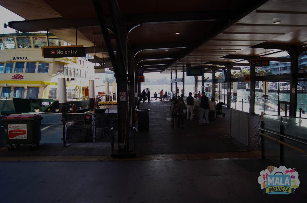 Wharf do Circular Quay