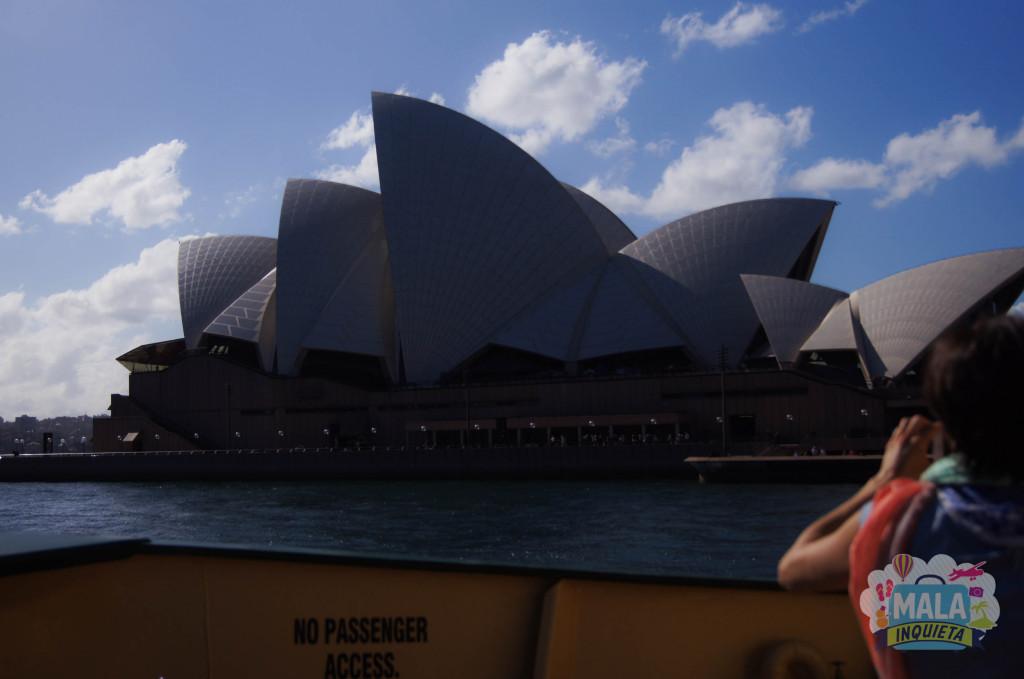 Passando do ladinho da Opera House