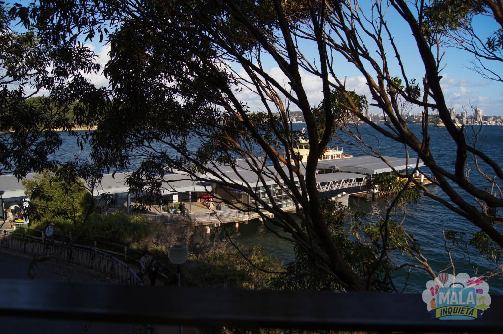Saindo da estação do Sky Safari, e lá esta o pier do Ferry.