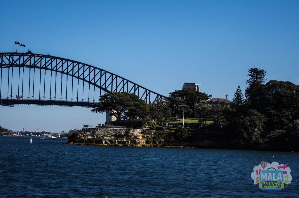 Lado Norte da Harbour Bridge