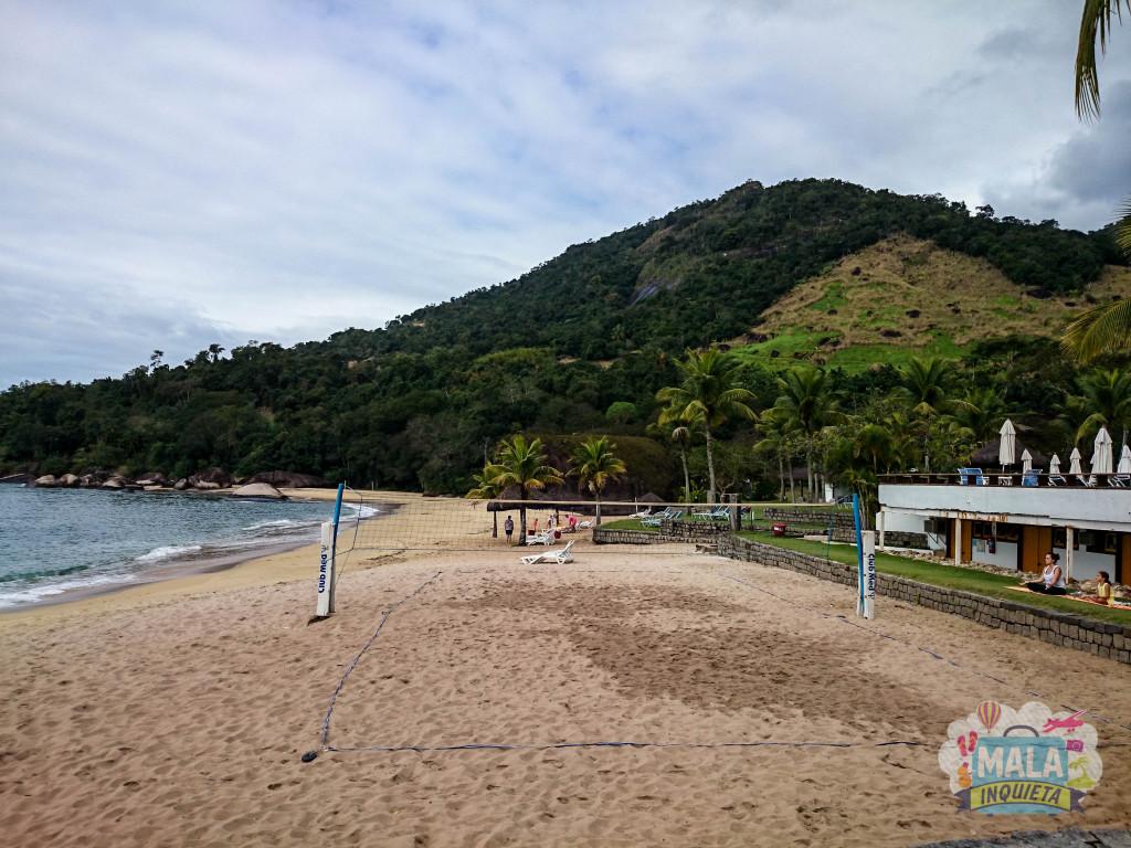 Local do vôlei de praia