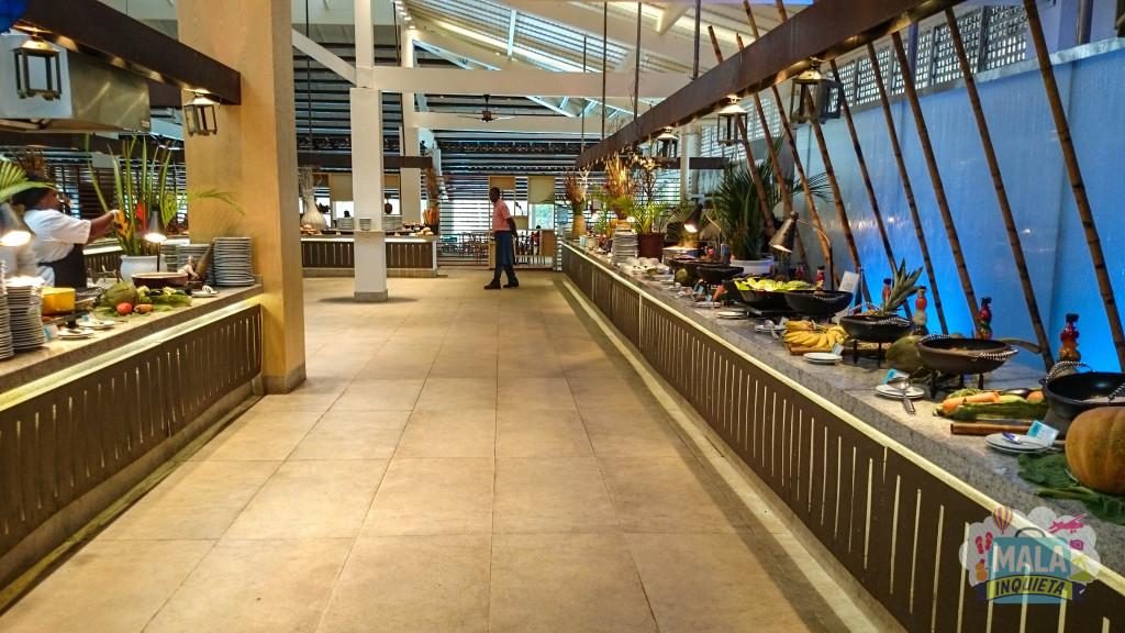 Restaurante Principal - Vista Parcial