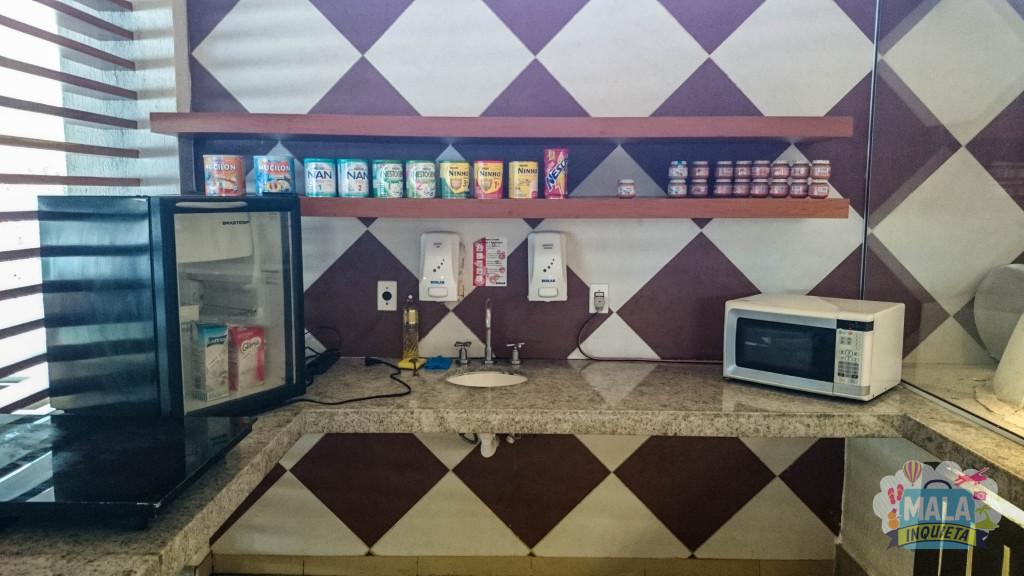 Restaurante Principal - Baby Corner (Cantinho do Bebê)