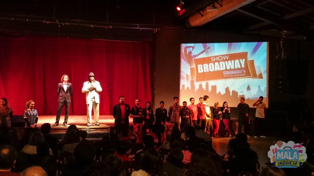 Show Broadway começando