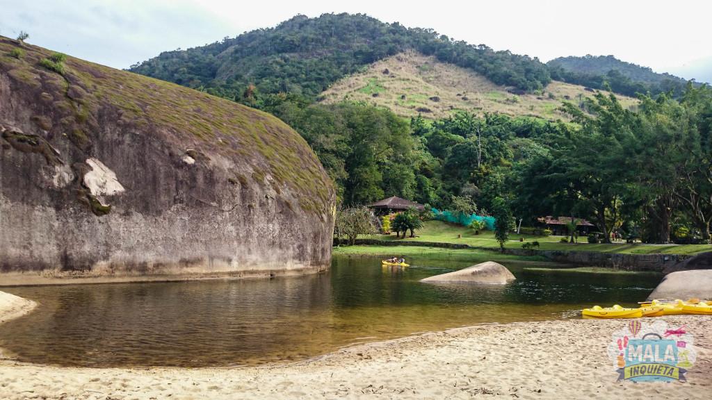 Caiaque no Rio das Pedras