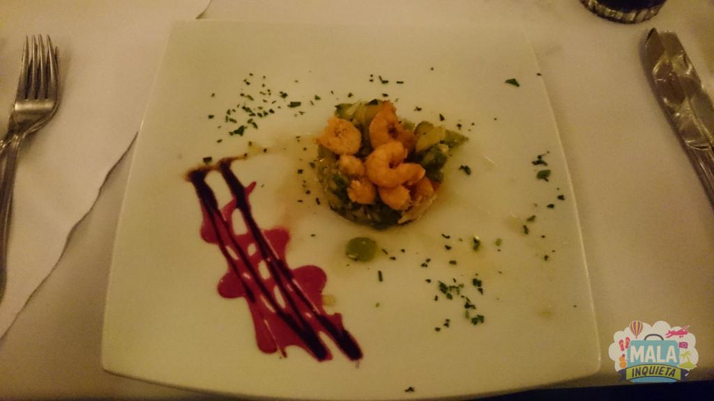 Restaurante Jangada - Entrada do Jantar