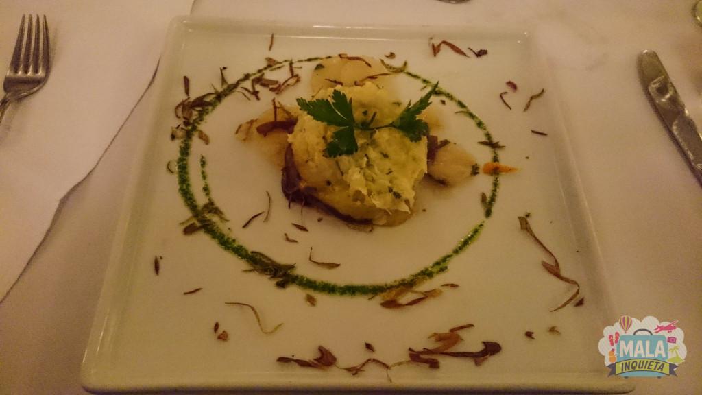 Restaurante Jangada - Prato principal do jantar