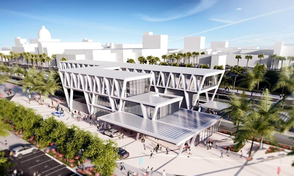 Projeto da Estação de West Palm Beach - Foto do Site Oficial