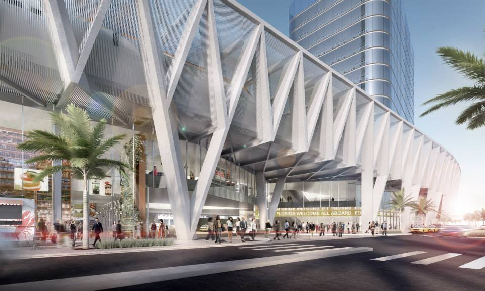 Futura estação de Miami. Foto do site oficial