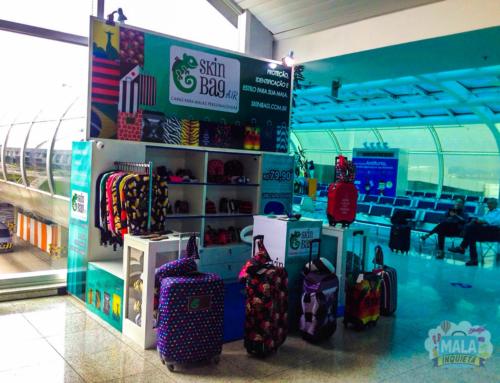 SkinBag no Aeroporto Santos Dumont – RJ