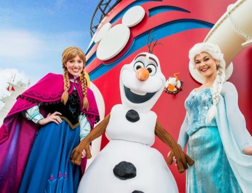 Atrações de Frozen estreiam nos navios da Disney Cruise Line