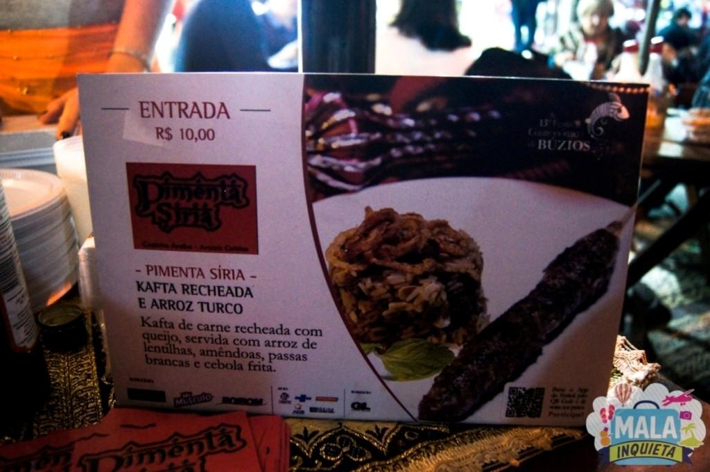 Restaurante Pimenta Síria