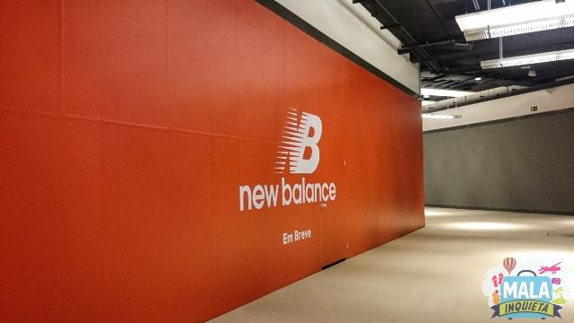 New Balance: fechada