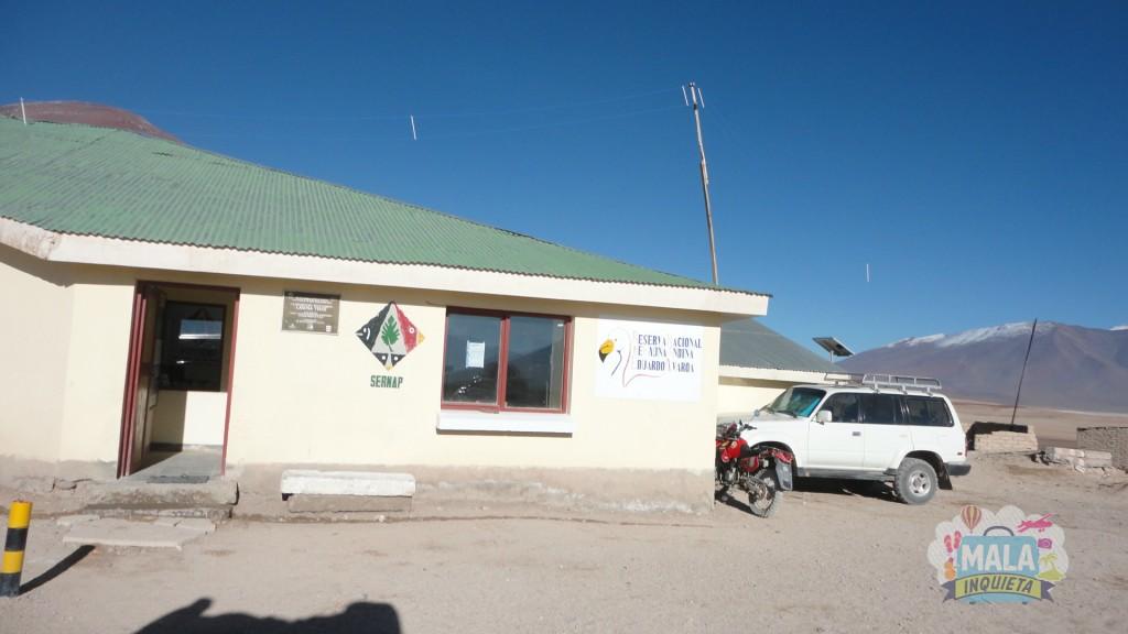 Fronteira Bolívia/Chile em San Pedro de Atacama. Foto: Lisane Monteiro