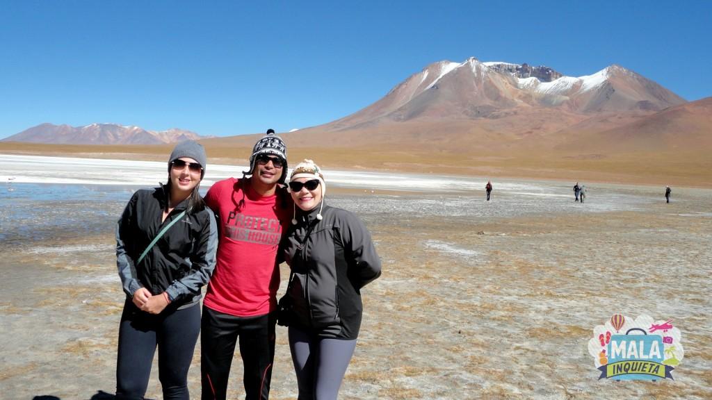 Amigos na Laguna Blanca. Foto: Lisane Monteiro
