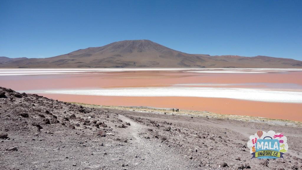 Laguna Colorada de outro ângulo. Foto: Lisane Monteiro