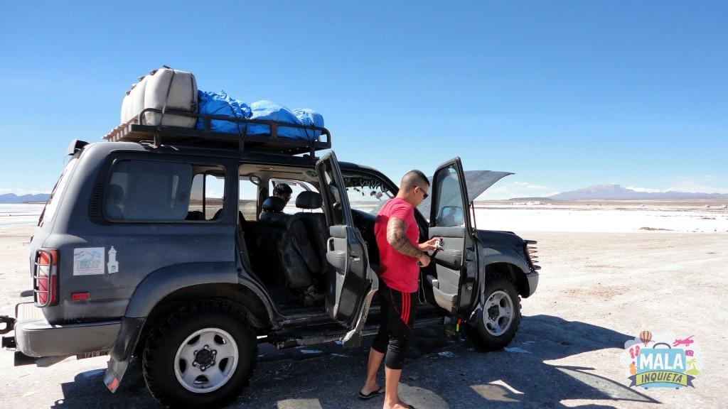 Nosso Jeep. Foto: Lisane Monteiro