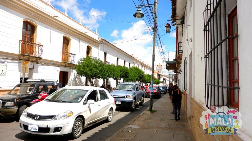 Pelas ruas de Sucre. Foto: Lisane Monteiro