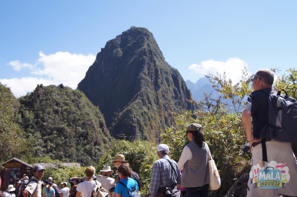 Controle de acesso para Huayna Picchu