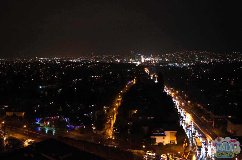 Vista a noite