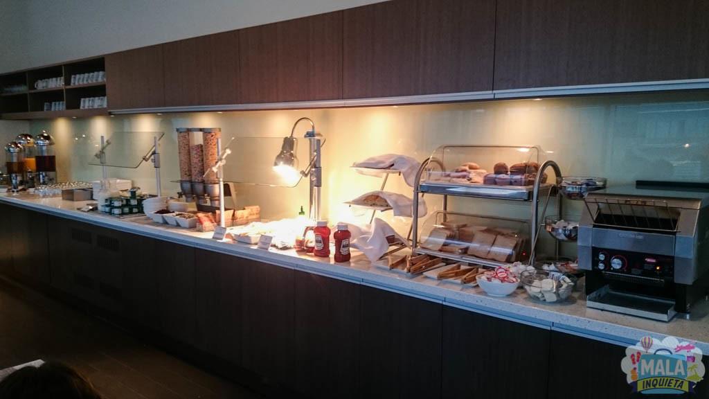 Buffet de café da manhã