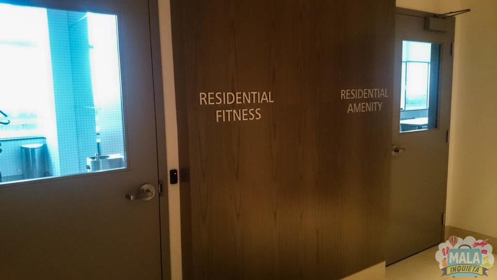 Área reservada para os moradores