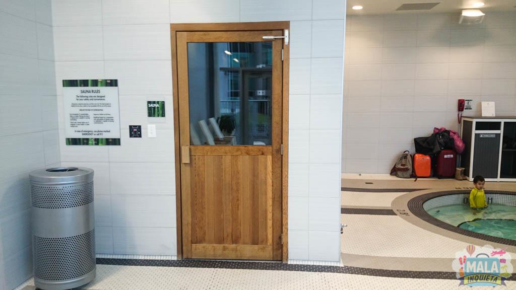 Jacuzzi e sauna