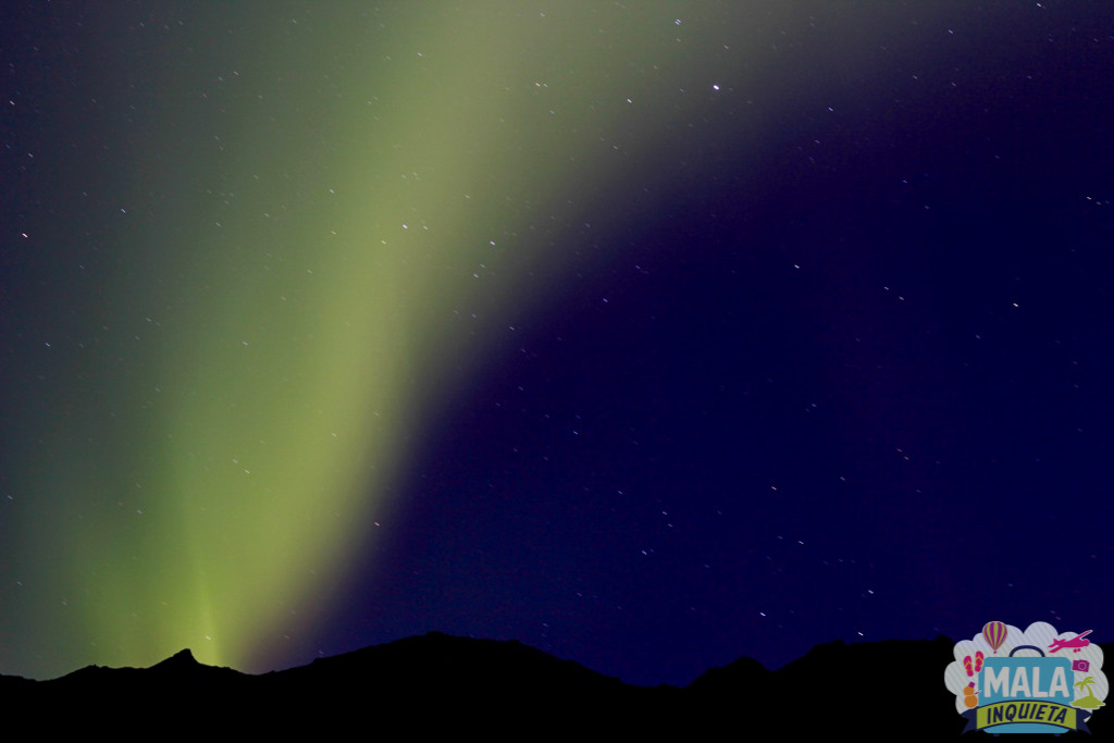 Aurora Boreal - Foto: Luciana Azevedo