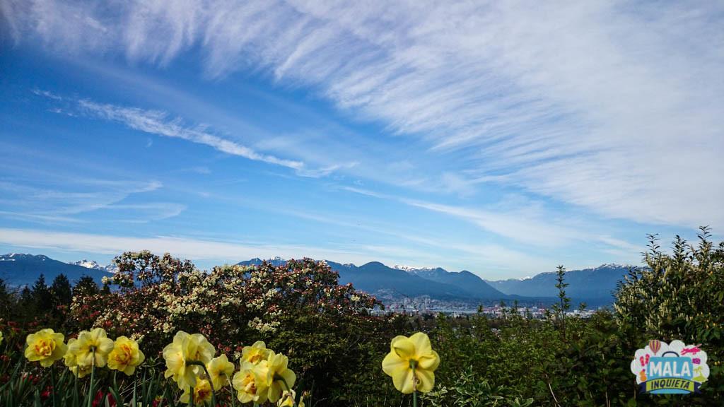 Vancouver vista do Queen Elizabeth Park - Foto: Renata Luppi