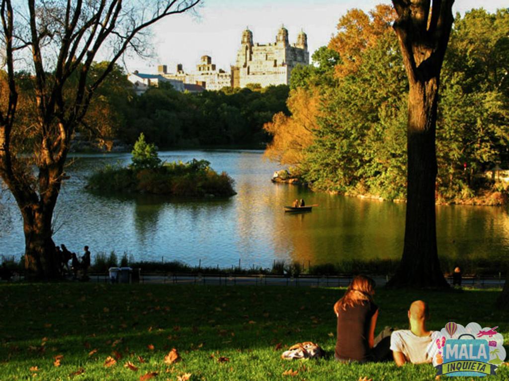 Outono no Central Park - Foto: GC/Blog Vambora!