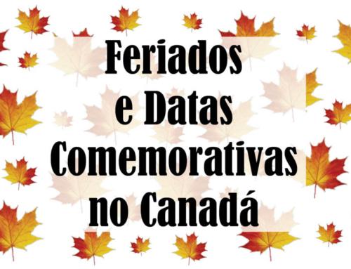Feriados e datas comemorativas no Canadá