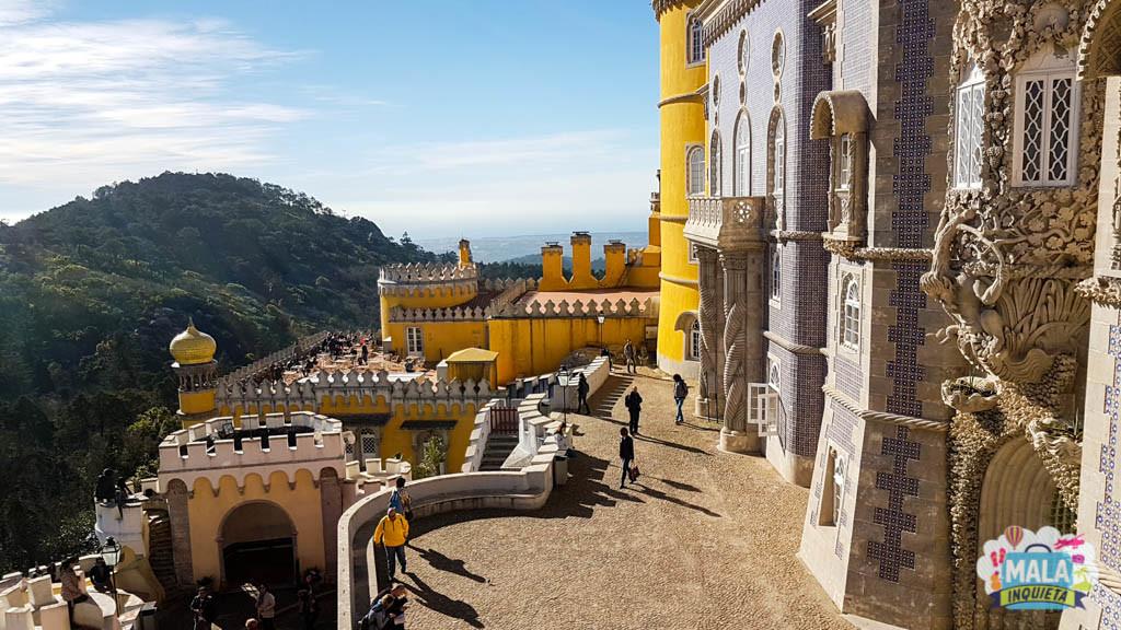 Palácio da Pena - Sintra | Foto: Claudia Bins