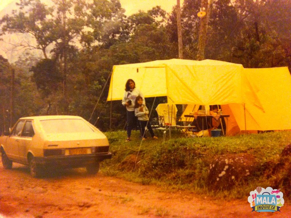 Um dos muitos acampamentos nas cidades do interior do Rio de Janeiro | Foto: Mala Inquieta