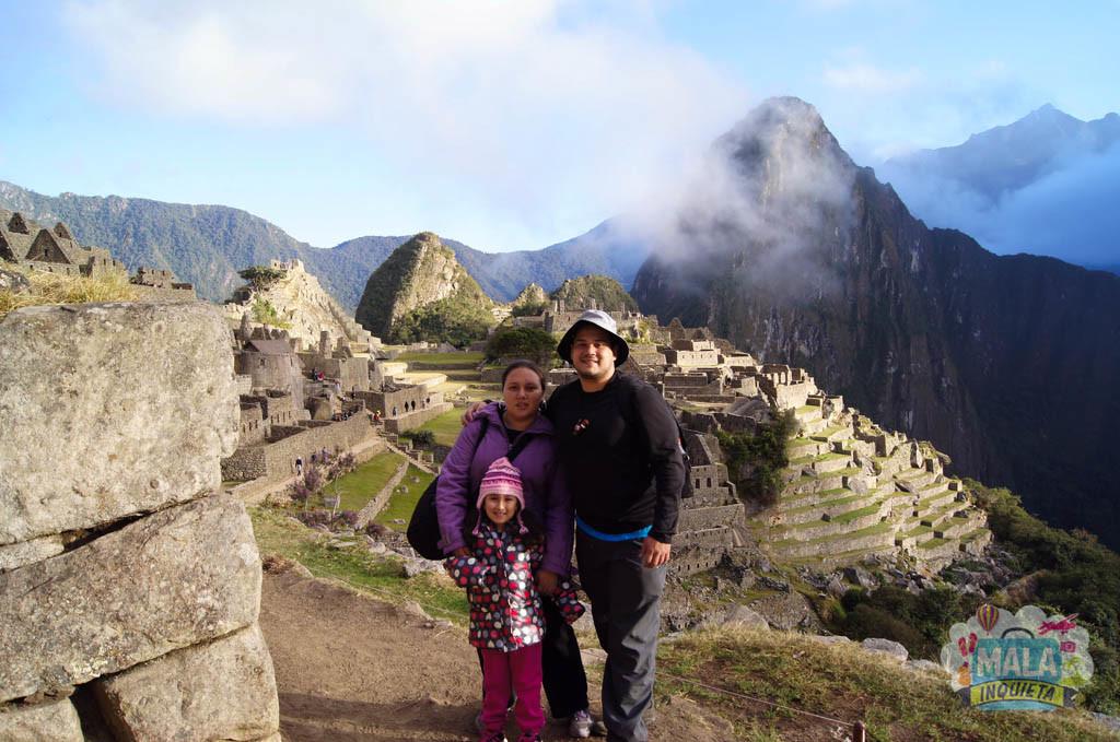 Família em Machu Picchu - 2013 | Foto: Mala Inquieta